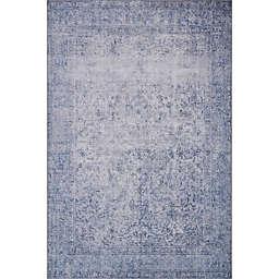Loloi Rugs Loren 7'9 x 9'6 Area Rug in Slate
