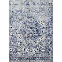 Loloi Rugs Patina Rug in Blue/Stone