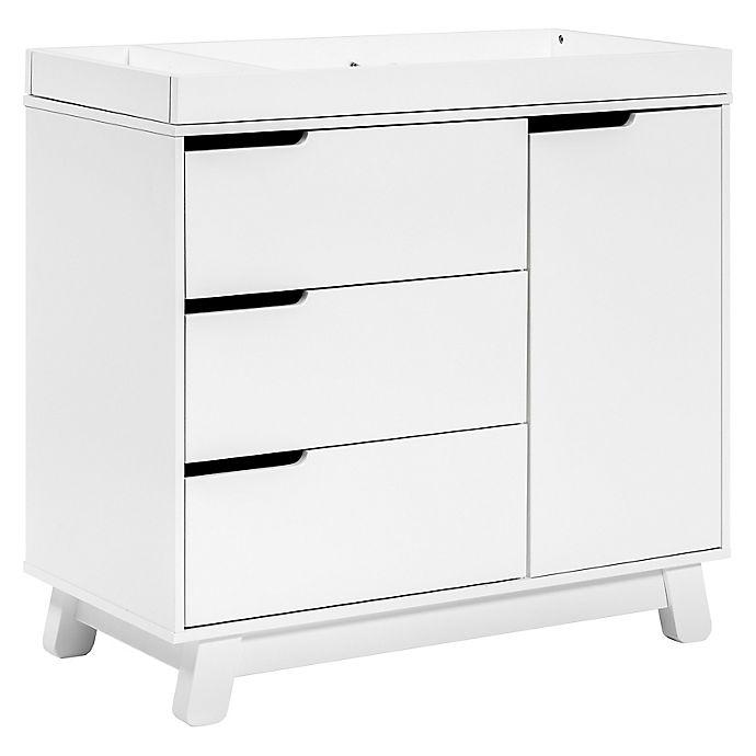 Alternate image 1 for Babyletto Hudson 3-Drawer Changer Dresser in White