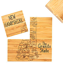 Totally Bamboo New Hampshire Puzzle 5-Piece Coaster Set