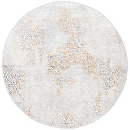 Safavieh Orchard 6'7 x 6'7 Jenkins Area Rug in Gold