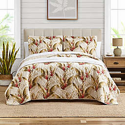 Tommy Bahama® Tanzania 2-Piece Reversible Twin Quilt Set in Cumin