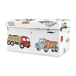 Sweet Jojo Designs Construction Truck Toy Bin