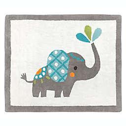 Sweet Jojo Designs Mod Elephant 30-Inch x 36-Inch Accent Floor Rug