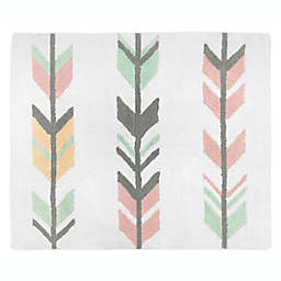 Sweet Jojo Designs Mod Arrow 30-Inch x 36-Inch Accent Floor Rug