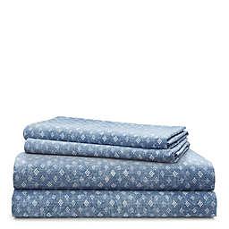 Lauren Ralph Lauren Gavin 200-Thread-Count Sheet Set in Blue