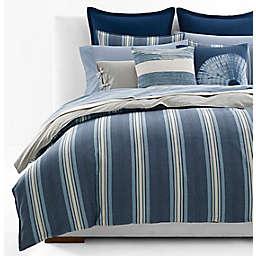 Lauren Ralph Lauren Gavin Stripe 3-Piece Reversible Comforter Set in Indigo