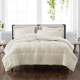 Cannon® Heritage Solid 3-Piece Reversible Full/Queen Comforter Set in Ivory