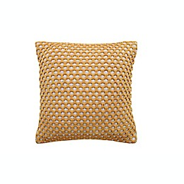 VCNY Home Sheila Square Indoor/Outdoor Throw Pillow in Natural