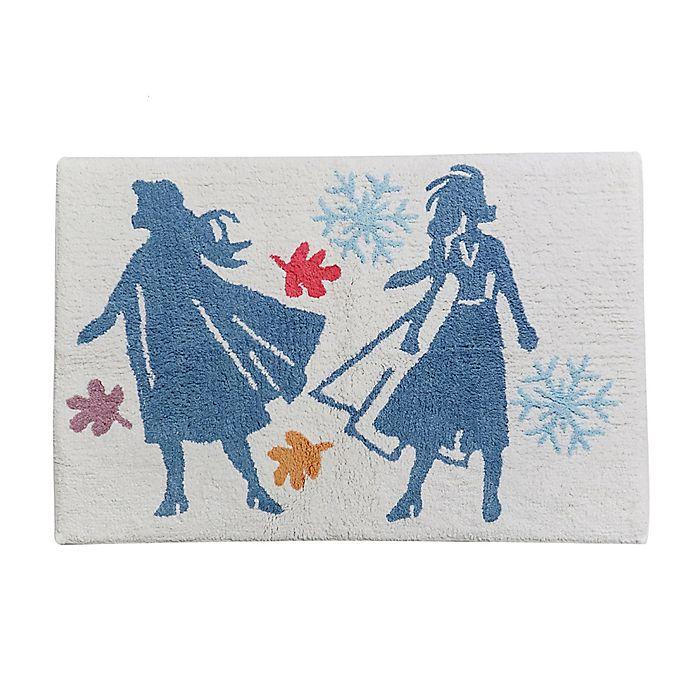 Alternate image 1 for Disney® Frozen Bath Rug in Blue