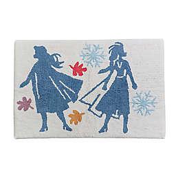 Disney® Frozen Bath Rug in Blue
