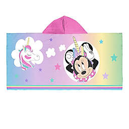 Minnie Hooded Towel in Pink
