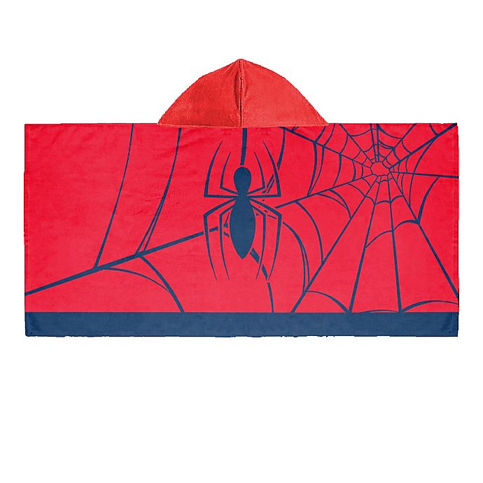 Alternate image 1 for Marvel® Comics Spiderman Hooded Towel