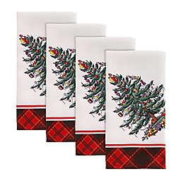 Spode® Christmas Tree Tartan Napkins (Set of 4)