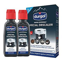 DURGOL® 2-Pack Swiss Espresso Special Decalcifier/Descaler