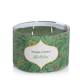 Yankee Candle® 3-Wick Mistletoe Seasonal Ornamental Candle