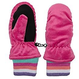 Nolan Originals Minky Fleece Ski Mitten in Pink