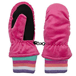 Nolan Originals Minky Fleece Ski Mitten in Pink