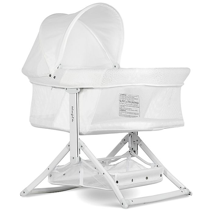 Alternate image 1 for Dream on Me Insta-Fold Bassinet in White