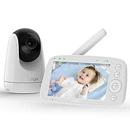 VAVA Video Baby Monitor with Camera in White