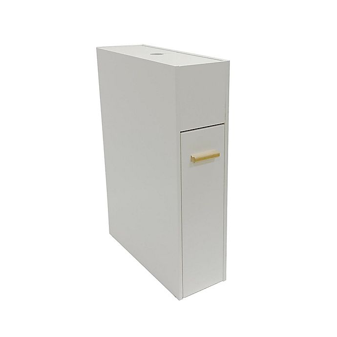 Alternate image 1 for SALT™ Narrow Space Saver Cabinet in White