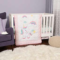 Baby's First by Nemcor 4-Piece Rainbow Sky Crib Bedding Set