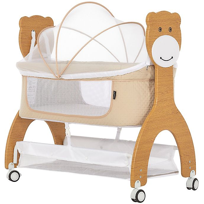 Alternate image 1 for Dream On Me Cub Portable Bassinet Rocking Cradle