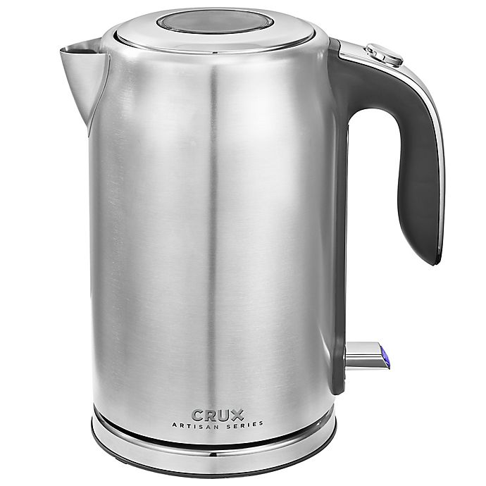 Alternate image 1 for CRUX® Artisan Series 1.7-Liter Kettle in Stainless Steel