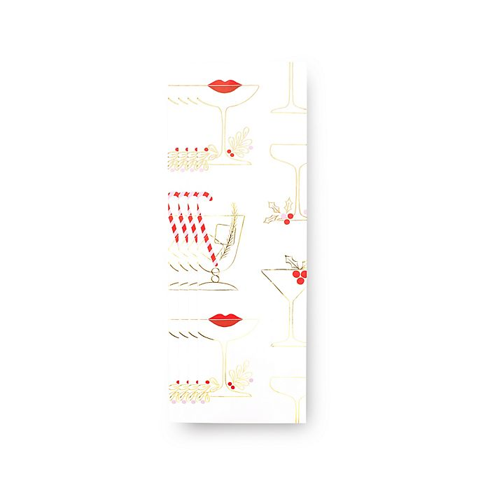 Alternate image 1 for kate spade new york Holiday Gift Wine Bags in White (Set of 8)