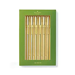 kate spade new york Pen Strike Gold Pen Set (Set of 6)