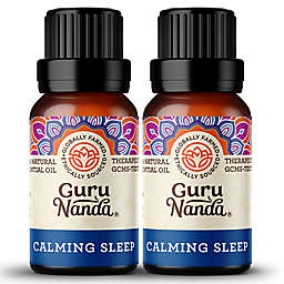 Guru Nanda® 2-Pack 15mL Calming Sleep Essential Oil