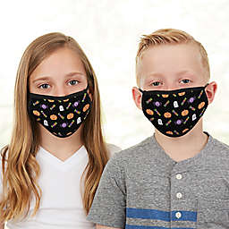 Halloween Character Kids Face Mask in Black