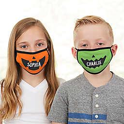 Jack-O-Lantern Halloween Character Kids Face Mask