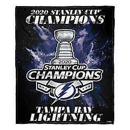 NHL Tampa Bay Lightning 2020 Stanley Cup Champs 50-Inch x 60-Inch Silk Touch Throw