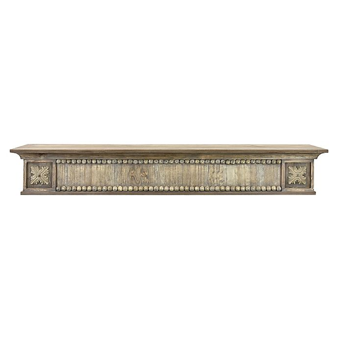 Alternate image 1 for Bee & Willow™ Home 36-Inch Beaded Wood Shelf