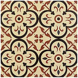 Achim Retro 12-Inch Square Peel & Stick Vinyl Floor Tiles in Birch (Set of 20)