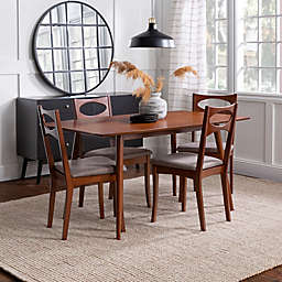 Forest Gate™ 5-Piece Mid-Century Dining Set