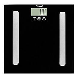 Glass Digital Body Analyzing Bath Scale in Black