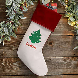 Choose Your Icon Personalized Christmas Stocking