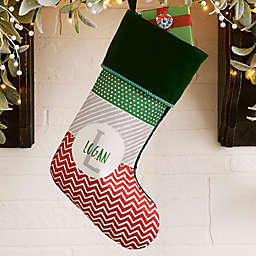Yours Truly Personalized Christmas Stocking