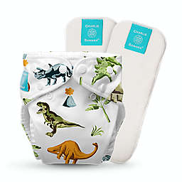 Charlie Banana® All-in-One One Size Dinosaur Reusable Cloth Diaper with Inserts