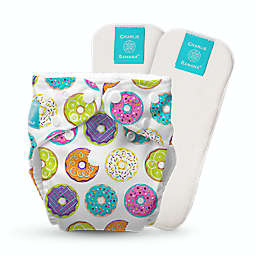 Charlie Banana® All-in-One One Size Donut Reusable Cloth Diaper with Inserts