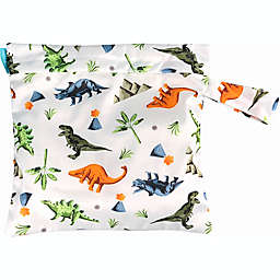 Charlie Banana® Dinosaur Waterproof Diaper Tote Bag