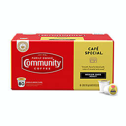 Community Coffee® Cafe Special Coffee Pods for Single Serve Coffee Makers 80-Count