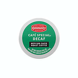 Community Coffee® Café Special Decaf Pods for Single Serve Coffee Makers 36-Count