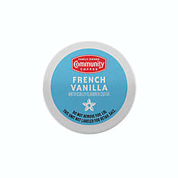 Community Coffee® French Vanilla Coffee for Single Serve Coffee Makers 24-Count