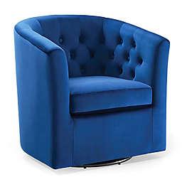 Modway Prospect Tufted Velvet Swivel Armchair