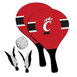 University of Cincinnati Bearcats 2-in-1 Birdie Pickleball Paddle Game Set