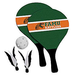 Florida A&M University Rattlers 2-in-1 Birdie Pickleball Paddle Game Set