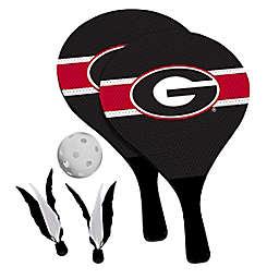 University of Georgia Bulldogs 2-in-1 Birdie Pickleball Paddle Game Set